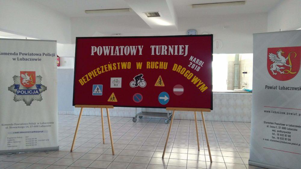 Powiatowy  Turniej Bezpieczeństwo w Ruchu Drogowym