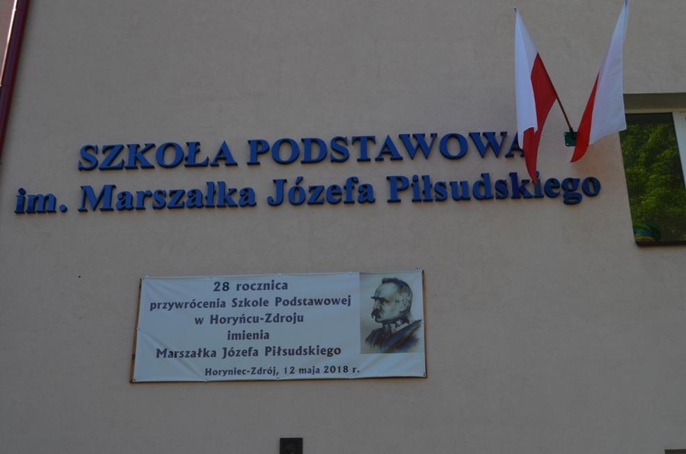 Uroczystości Dnia Patrona Szkoły Podstawowej w Horyńcu-Zdroju